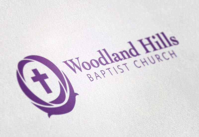 Woodland Hills Baptist Church logo