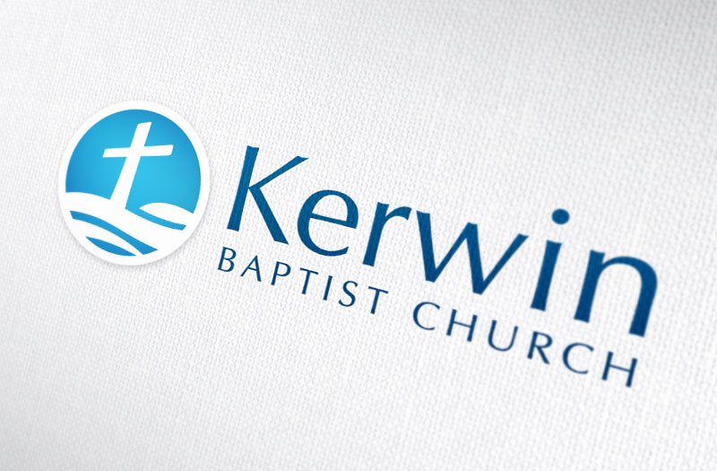 Kerwin Baptist Church logo
