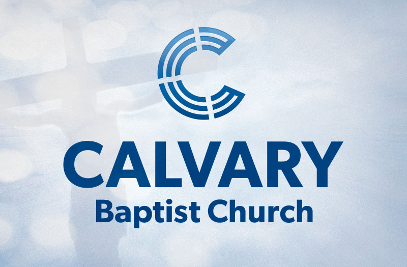 logo design for Calvary Baptist Church