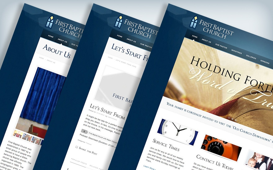 firstbaptist-preview-website