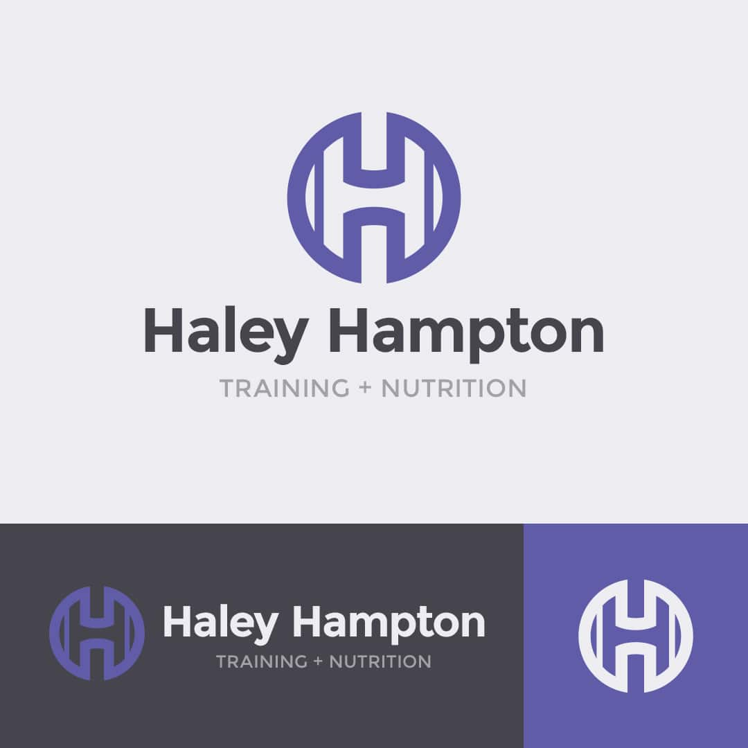 Haley Hampton personal trainer logo